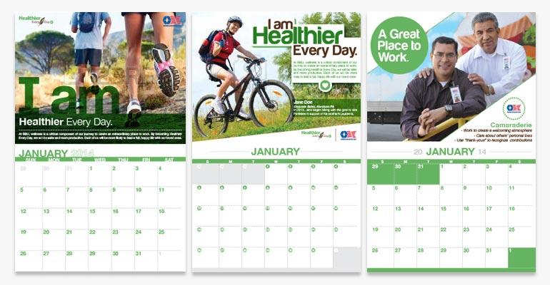 Calendar Design Options : Csd bbu corporate calendar
