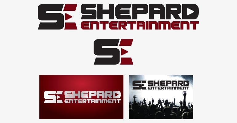 Shepard Entertainment Logo Brand Identity Redesign