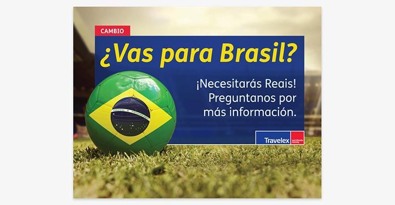 travelex marketing in panama for brazil world cup