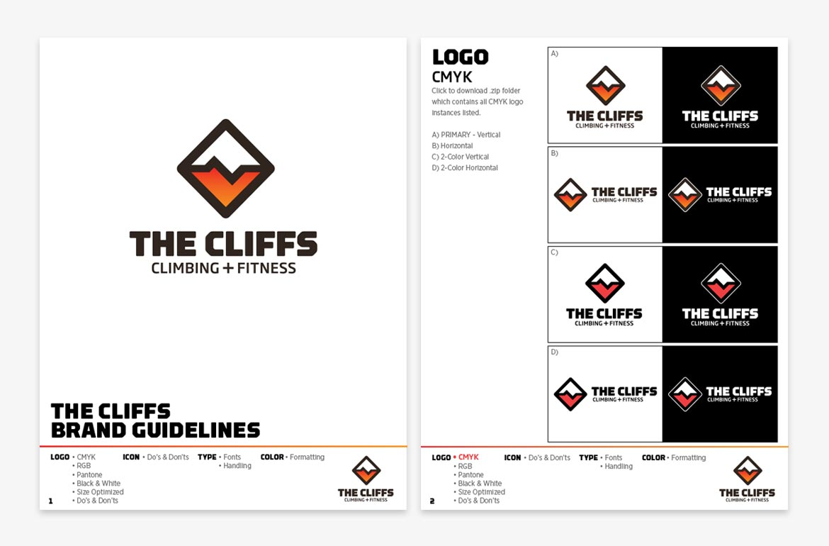 The Cliffs Brand Usage Guidelines Design
