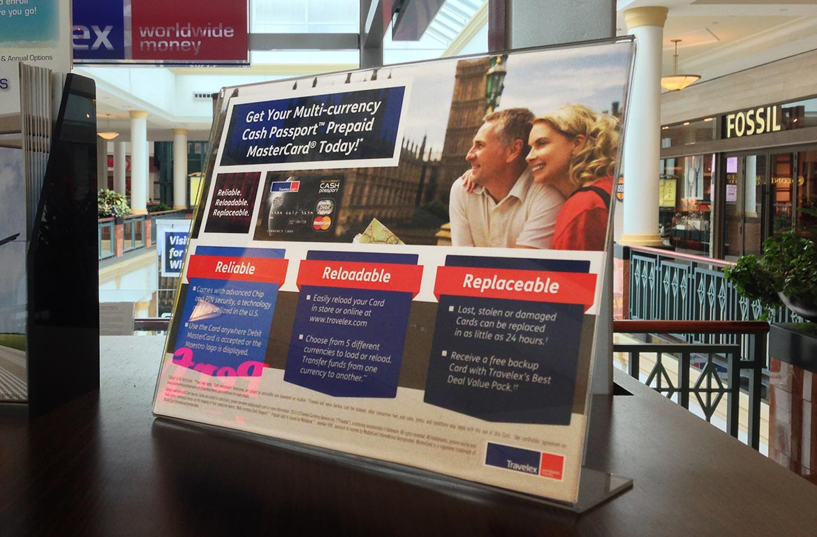 King of Prussia Mall Travelex Retail Sales Tool