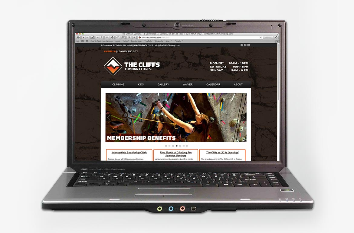 The Cliffs Website Redesign Web Design
