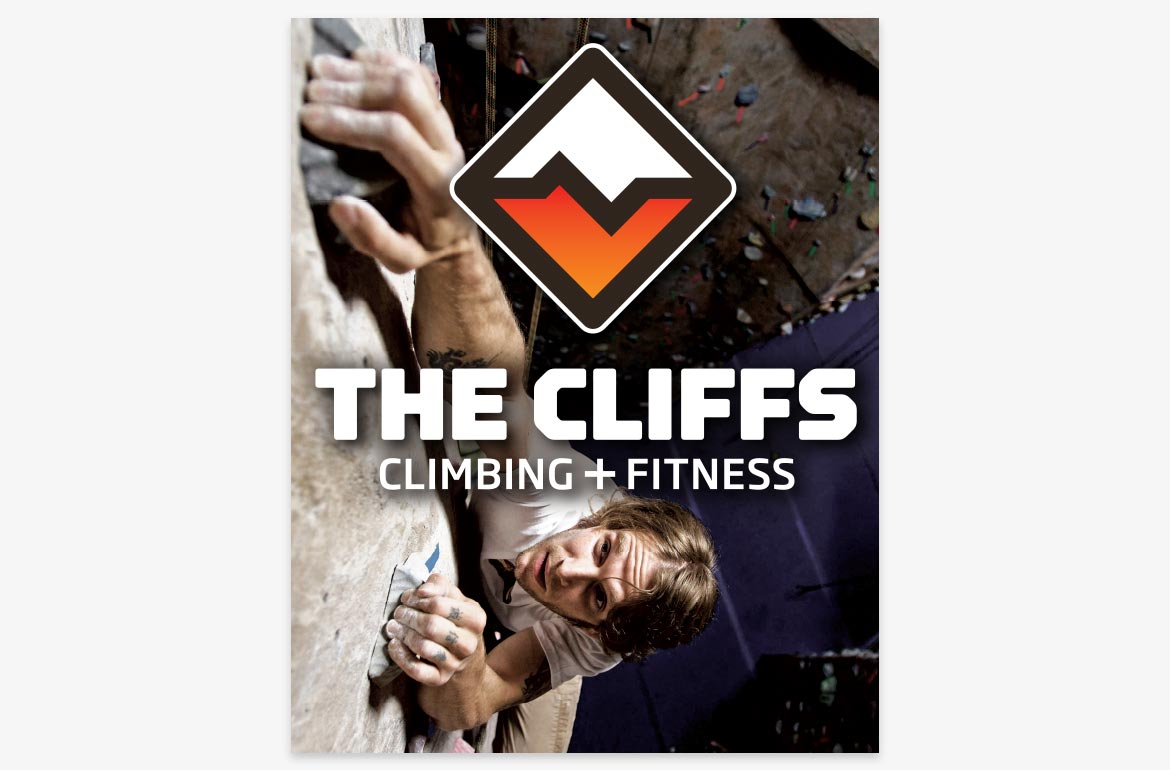 Rock Climbing Poster Design The Cliffs